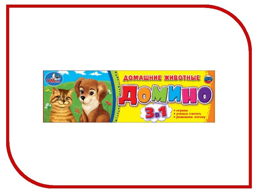 Настольная игра Умка Домино Домашние Животные 4690590121498