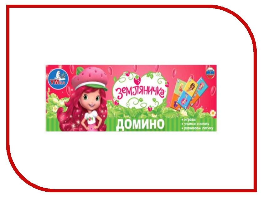 Настольная игра Умка Домино Земляничка 4690590122969