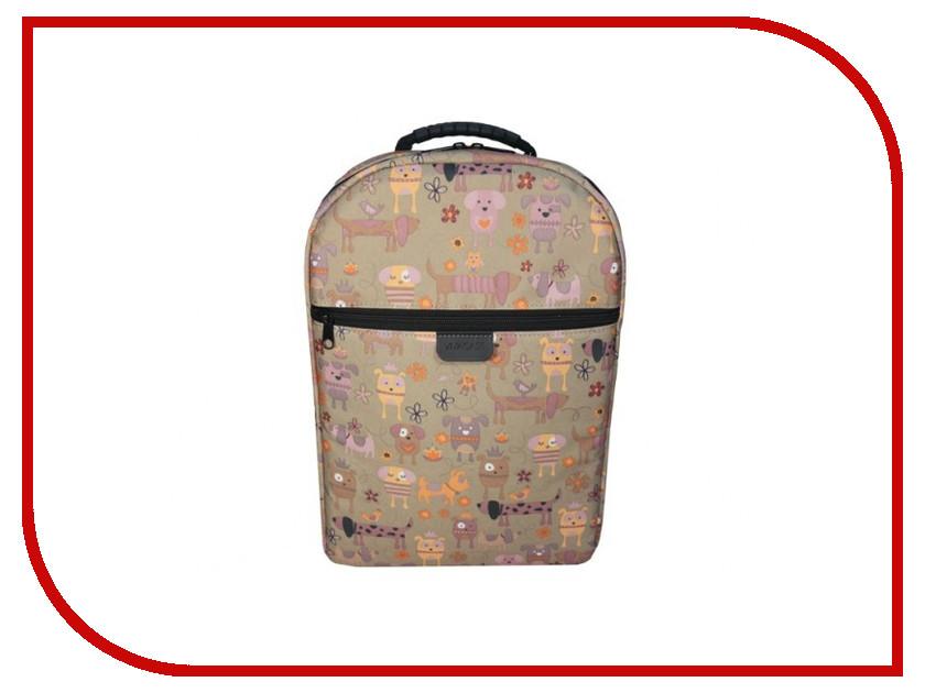Рюкзак Vivacase 15.6 Doggy Brown VCN-BDG15-br