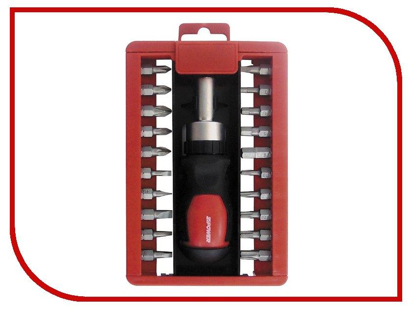 Отвертка Zipower PM5133 набор инструмента zipower pm 5133 21шт