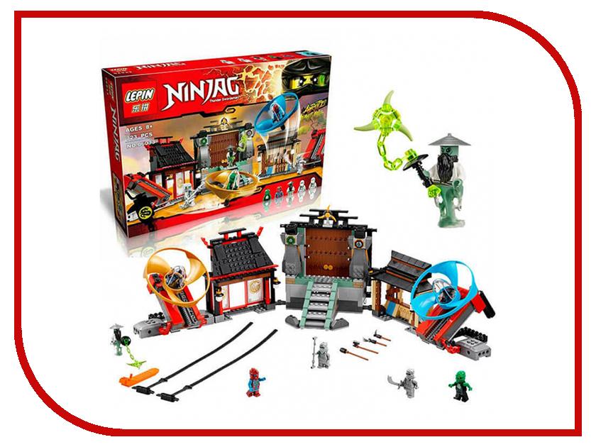 Конструктор Lepin Ninjag Аэроджитцу поле битвы 723 дет. 06033 конструктор lepin star plan истребитель набу 187 дет 05060