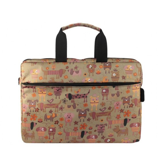 Сумка 15.6 Vivacase Doggy Brown VCN-CDG15-br
