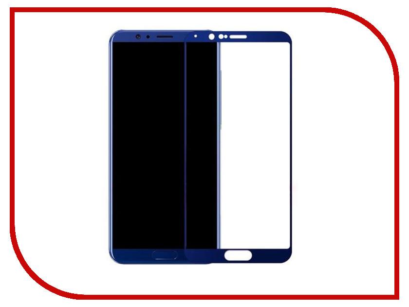 Аксессуар Защитное стекло Huawei Honor View 10 Mobius 3D Full Cover Blue аксессуар защитное стекло samsung galaxy j5 prime mobius 3d full cover black