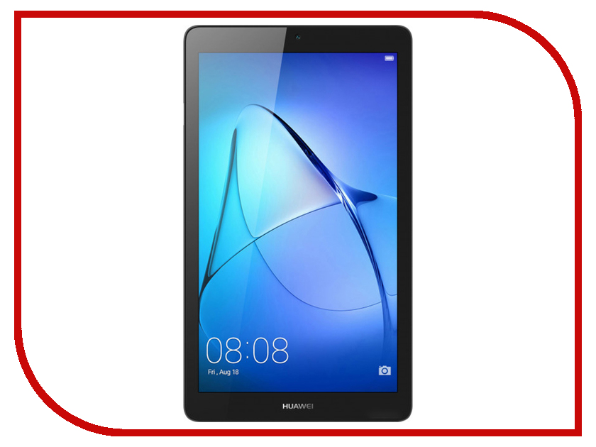 Планшет Huawei MediaPad T3 7 16Gb BG2-U01 Space Grey (MediaTek MT8321 1.3 GHz/1024Mb/16Gb/3G/Wi-Fi/Bluetooth/7/1024x600/Android) планшет archos core 101 3g 16gb silver 503655 mediatek mt8321 1 3 ghz 1024mb 16gb gps 3g wi fi bluetooth cam 10 1 1280x800 android