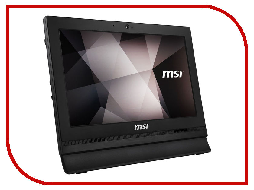 Моноблок MSI Pro 16T 7M-009RU Black 9S6-A61611-009 (Intel Celeron 3865U 1.8 GHz/4096Mb/500Gb/Intel HD Graphics/15.6/1366x768/Touchscreen/DOS) ноутбук msi gs43vr 7re 094ru phantom pro 9s7 14a332 094