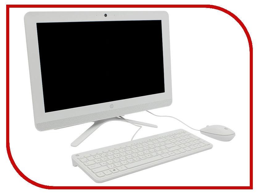 Моноблок HP 20 20-c041ur Snow White 1EE00EA (AMD E2-7110 1.8 GHz/4096Mb/500Gb/DVD-RW/AMD Radeon R2/Wi-Fi/Bluetooth/Cam/19.5/1600x900/DOS)