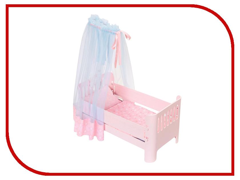 Кроватка для куклы Zapf Creation Baby Annabell 700-068 zapf creation мебель для куклы zapf creation baby annabell кроватка качалка