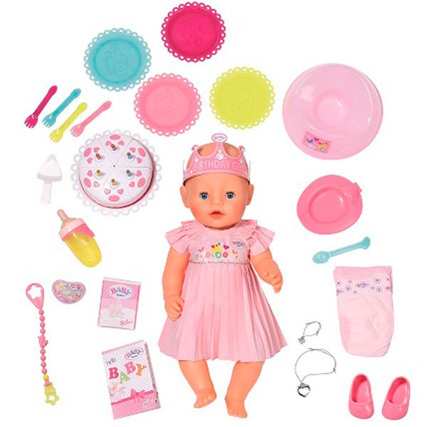 купить Кукла Zapf Creation Baby born 825-129 по цене 4423 рублей