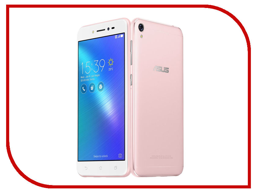 Сотовый телефон ASUS Zenfone Live ZB501KL 16Gb Pink сотовый телефон elari nanophone c pink