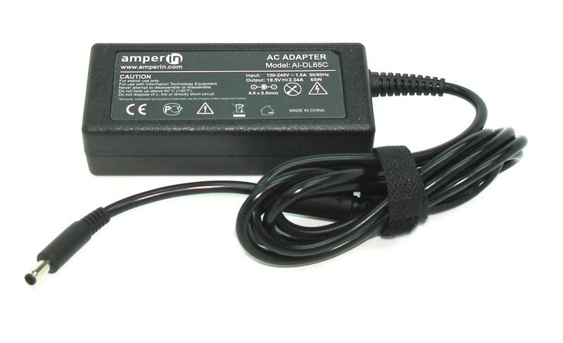 Блок питания Amperin AI-DL65C для Dell 19.5V 3.34A 4.5x3.0 65W