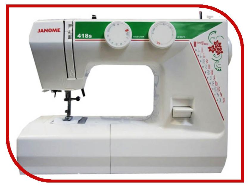 Швейная машинка Janome 418s цена janome memory craft 5200