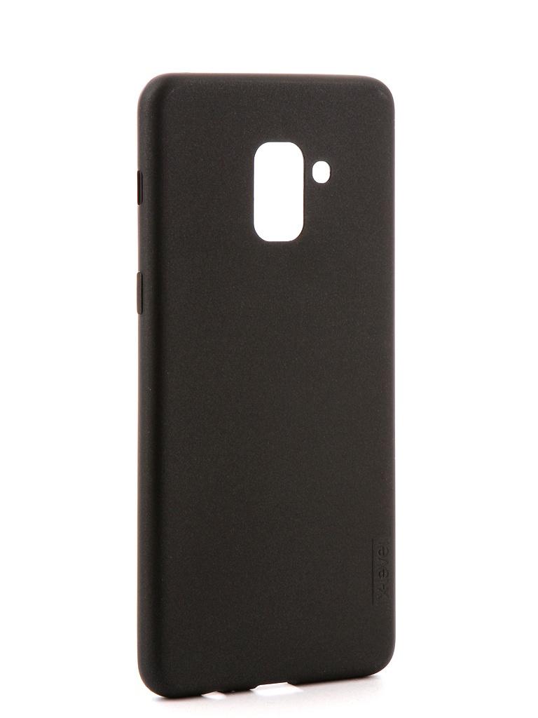 Аксессуар Чехол X-Level Guardian для Samsung Galaxy A8 Plus 2018 Black 2828-034 аксессуар чехол для samsung galaxy j4 2018 x level guardian black 2828 158