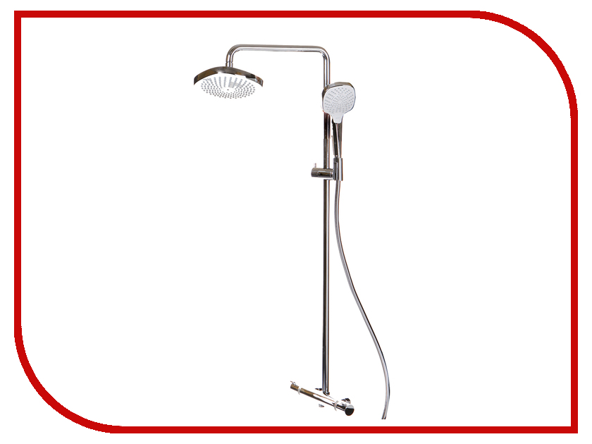 Душевая стойка Hansgrohe Croma Select E 180 2jet Showerpipe 27256400 душевой набор hansgrohe raindance select showerpipe 360 27112000