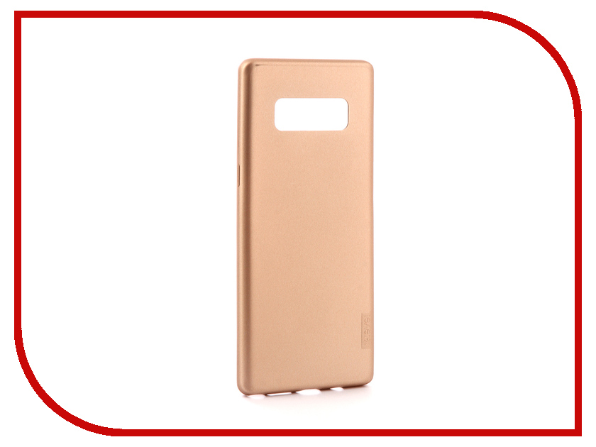 Аксессуар Чехол для Samsung Galaxy Note 8 X-Level Guardian Gold 2828-044 аксессуар чехол samsung galaxy j5 2017 x level vintage beige 15435