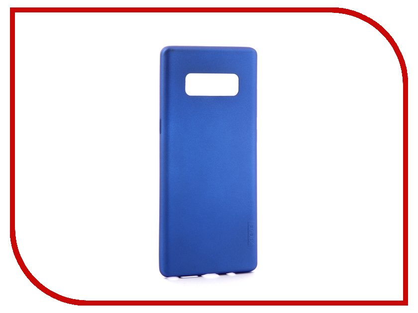 Аксессуар Чехол для Samsung Galaxy Note 8 X-Level Guardian Blue 2828-045 аксессуар чехол samsung galaxy j5 2017 x level vintage beige 15435