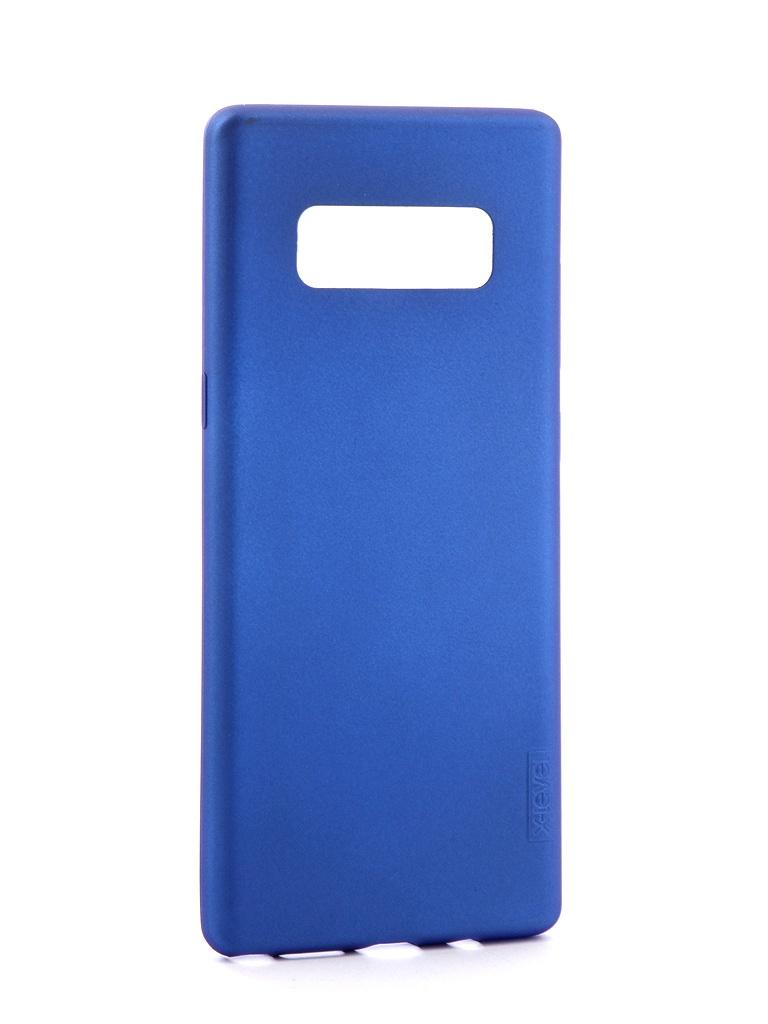 Фото - Аксессуар Чехол X-Level Guardian для Samsung Galaxy Note 8 Blue 2828-045 аксессуар чехол для samsung galaxy note 9 x level guardian series blue 2828 173