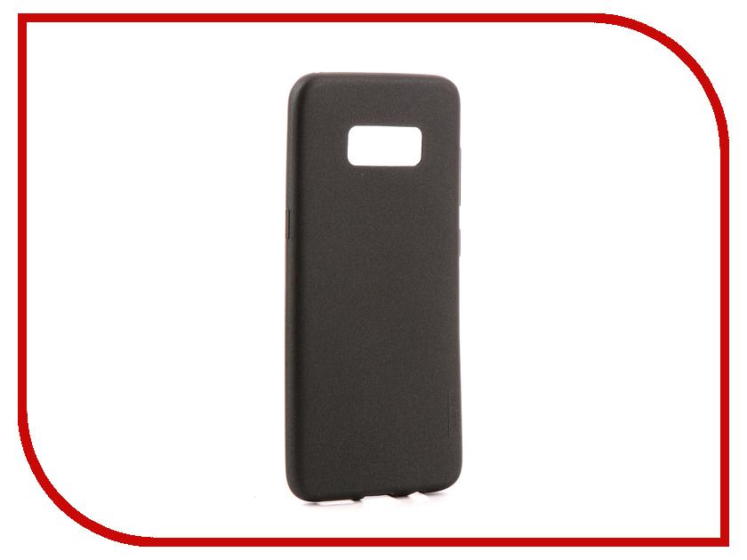 Аксессуар Чехол для Samsung Galaxy S8 X-Level Guardian Black 2828-050 оригинальный samsung galaxy s8 s8 plus nillkin 3d ap pro полноэкранный экранный протектор экрана