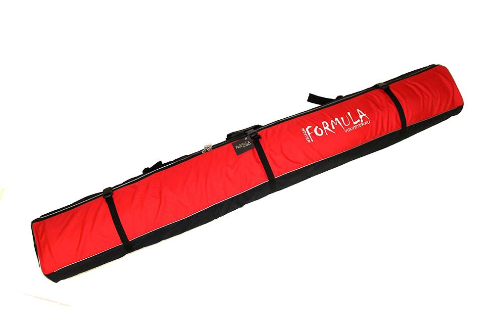 Кофр для горных лыж Формула зима Voyage-1 180 Red 51011