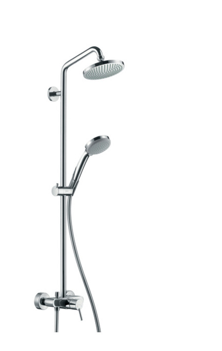 Душевая стойка Hansgrohe Croma 100 Showerpipe 27154000 цена