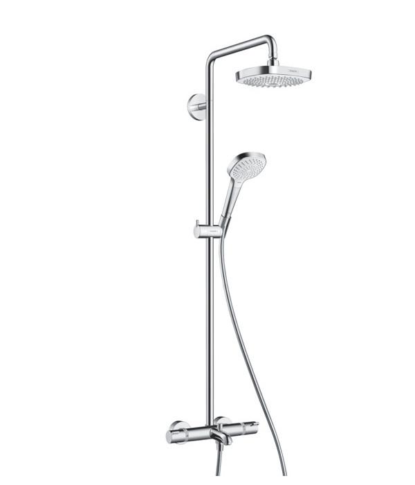 Душевая стойка Hansgrohe Croma Select E 180 2jet Showerpipe 27352400 цена
