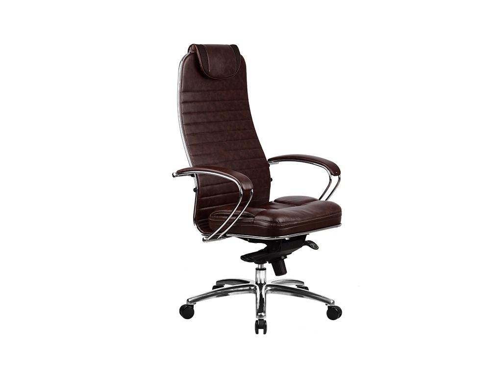 Компьютерное кресло Метта Samurai KL-1.02 / KL-1.03 Dark Brown