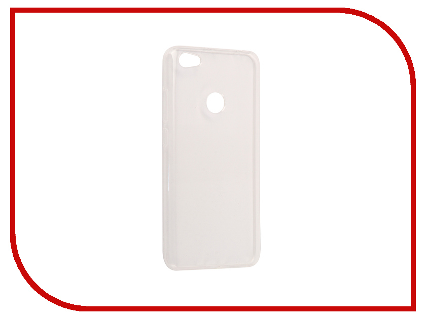 Аксессуар Чехол Xiaomi Redmi Note 5A Neypo Silicone Transparent NST3374 аксессуар защитное стекло xiaomi redmi note 5a 16gb neypo tempered glass npg3209