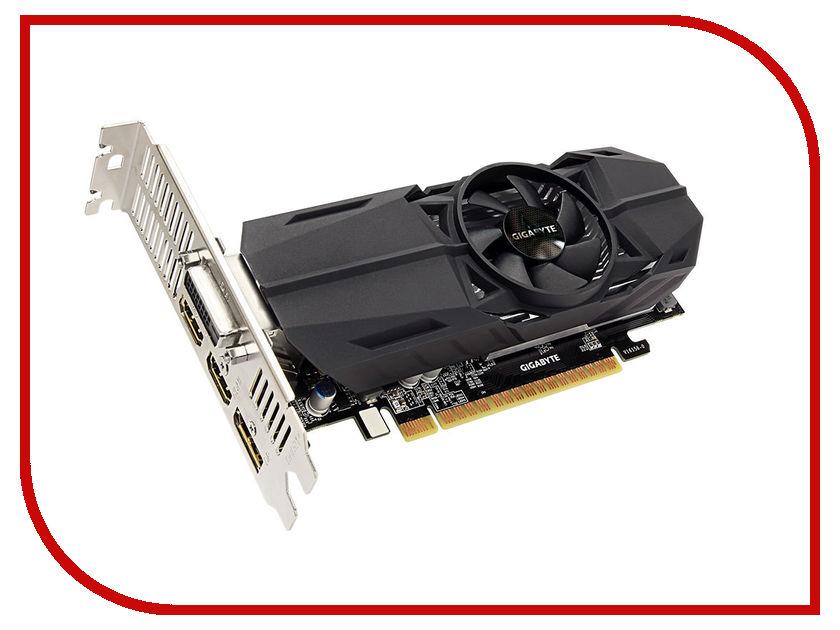 Видеокарта GigaByte GeForce GTX 1050 1366Mhz PCI-E 3.0 2048Mb 7008Mhz 128 bit DVI HDMI HDCP GV-N1050OC-2GL блок питания aerocool retail kcas 700w 700w 4713105953282