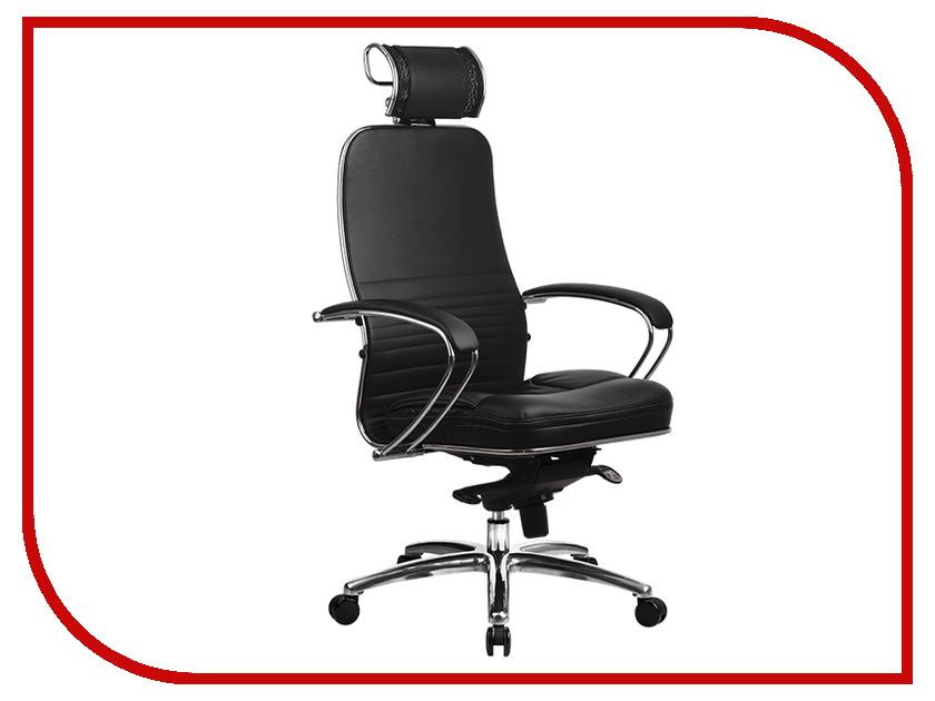 Компьютерное кресло Метта Samurai KL-2.02 Black с 3D подголовником