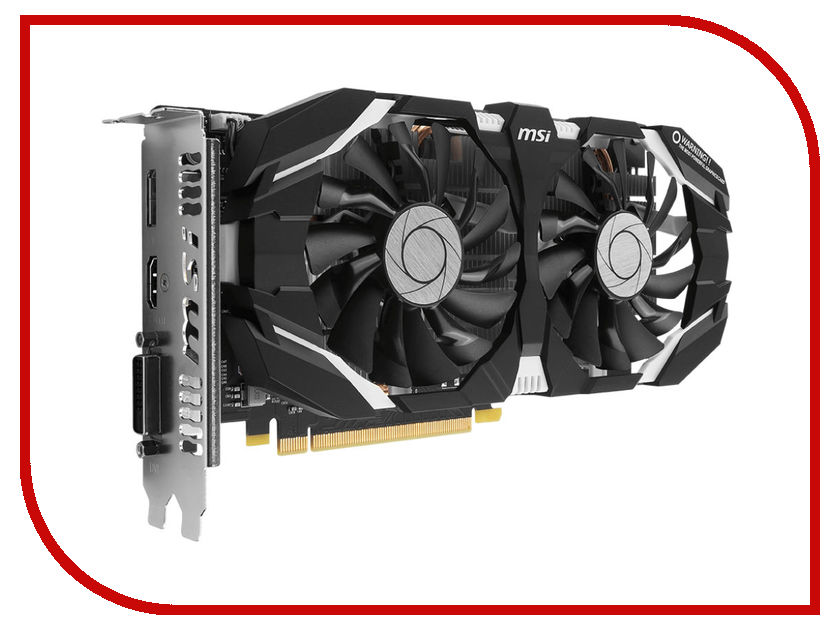 Видеокарта MSI GeForce GTX 1060 1544Mhz PCI-E 3.0 3072Mb 8008Mhz 192 bit DVI DP HDMI HDCP GTX 1060 3GT OCV2 видеокарта msi nvidia geforce gt 730 n730 2gd3v2 2гб ddr3 ret
