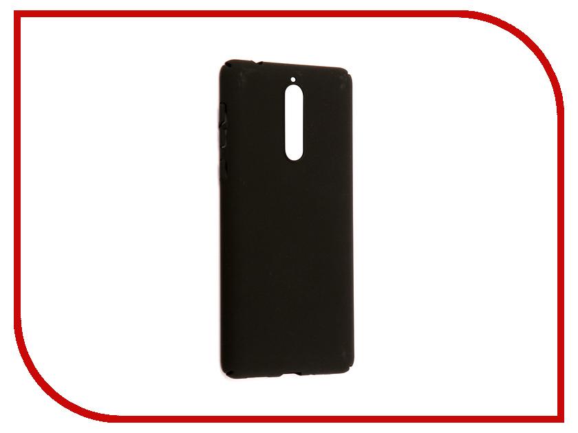 Аксессуар Чехол для Nokia 8 Neypo Soft Touch Black ST3310