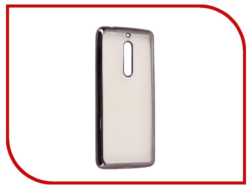 Аксессуар Чехол Nokia 5 Neypo Aura Silicone Grey Metallic NST3479 nokia 5