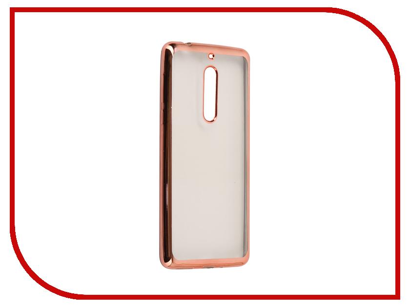 Аксессуар Чехол Nokia 5 Neypo Aura Silicone Pink Metallic NST3481 nokia 6700 classic illuvial pink киев