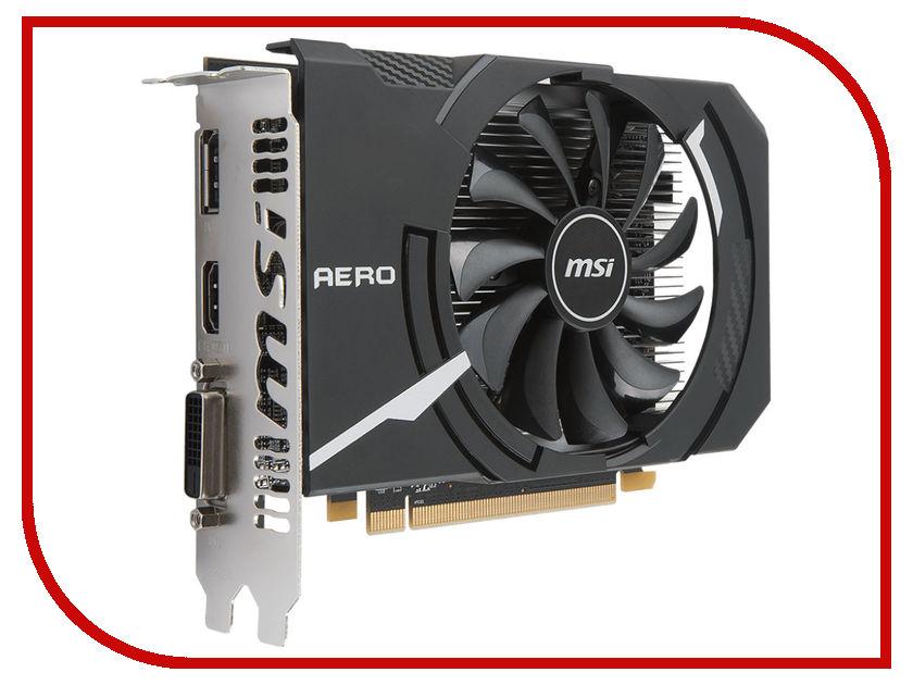 цена на Видеокарта MSI Radeon RX 550 1203Mhz PCI-E 3.0 2048Mb 7000Mhz 128 bit DVI DP HDMI HDCP RX 550 AERO ITX 2G OC