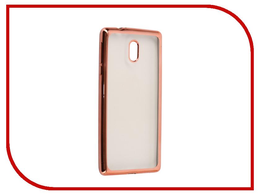 Аксессуар Чехол Nokia 3 Neypo Aura Silicone Pink Metallic NST3476 nokia 6700 classic illuvial pink киев