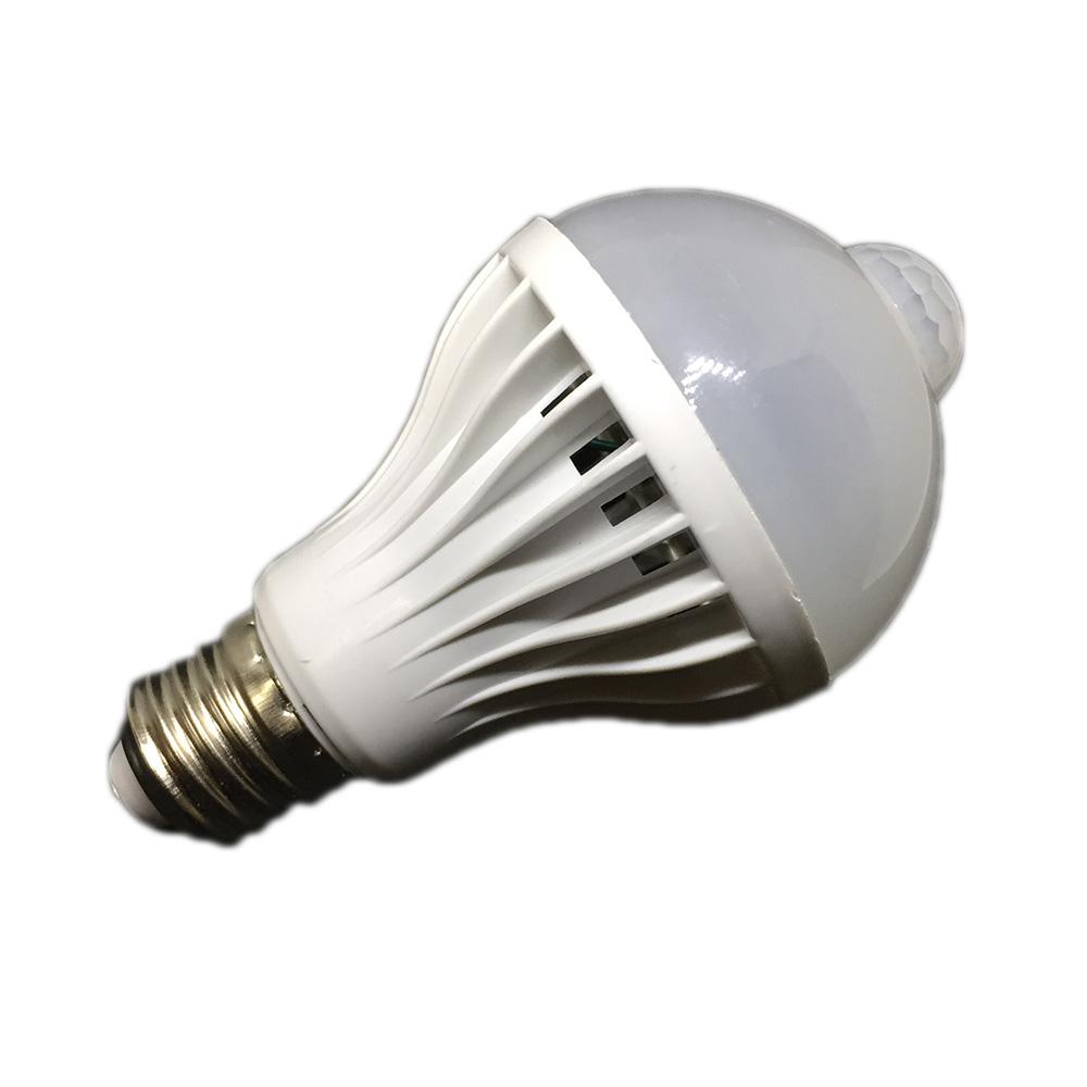 Лампочка Espada E27-6-M-6W 100-265V с датчиком освещения, арт. 503273, цена 405 р., фото и отзывы