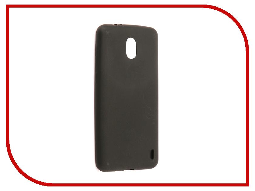 Аксессуар Чехол для Nokia 2 Neypo Soft Matte Silicone Black NST3467