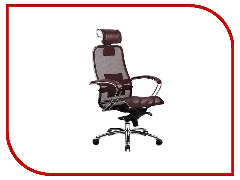 Компьютерное кресло Samurai S-2.02 Dark Burgundy с 3D подголовником Метта 4665302681065