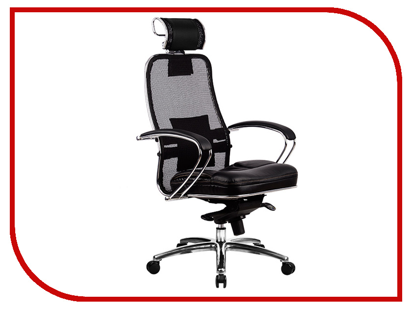 все цены на Компьютерное кресло Метта Samurai SL-2.02 Black с 3D подголовником