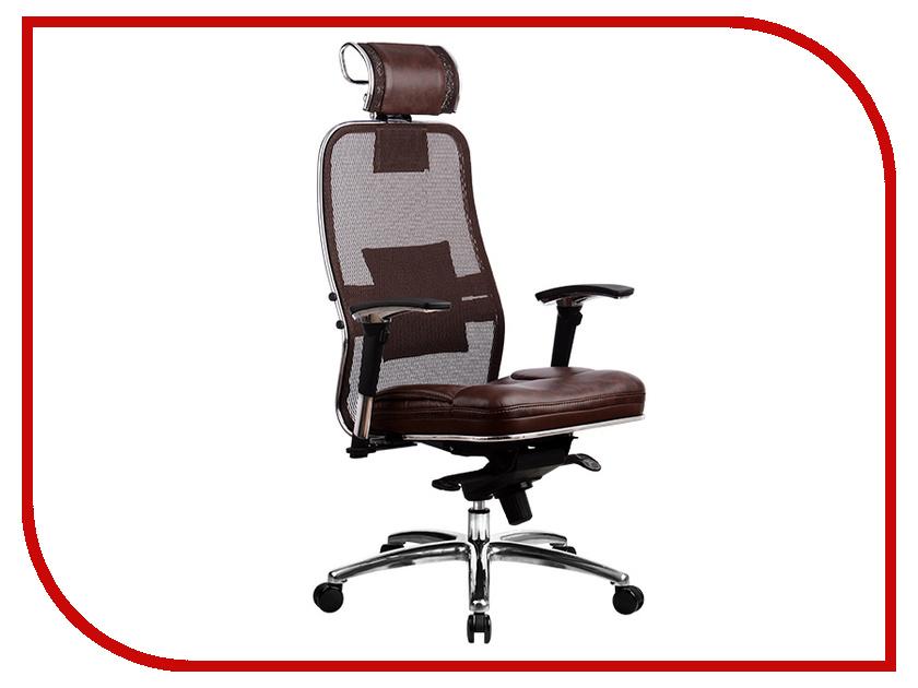 все цены на Компьютерное кресло Метта Samurai SL-3.02 Dark Brown с 3D подголовником