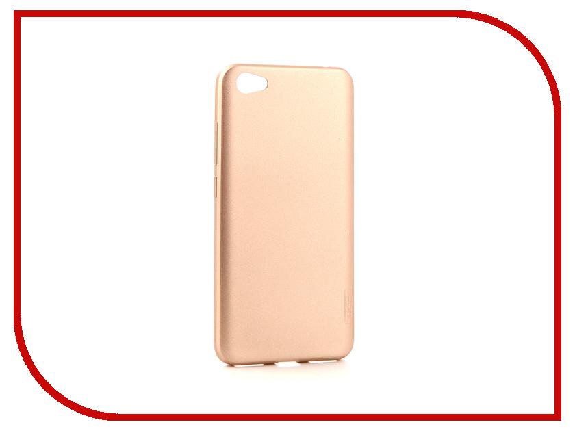 Аксессуар Чехол Xiaomi Redmi Note 5A X-Level Guardian Series Gold 2828-077 фильтр aquakit 077 sld10 3p tp3 4
