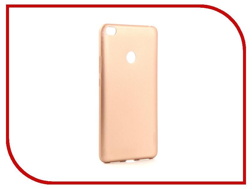 Аксессуар Чехол для Xiaomi Redmi Mi Max 2 X-Level Guardian Series Gold 2828-071 kykeo красный mi max 2