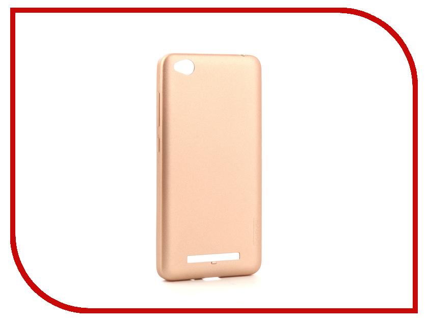 Аксессуар Чехол Xiaomi Redmi 4A XLevel Guardian Series Gold 2828057