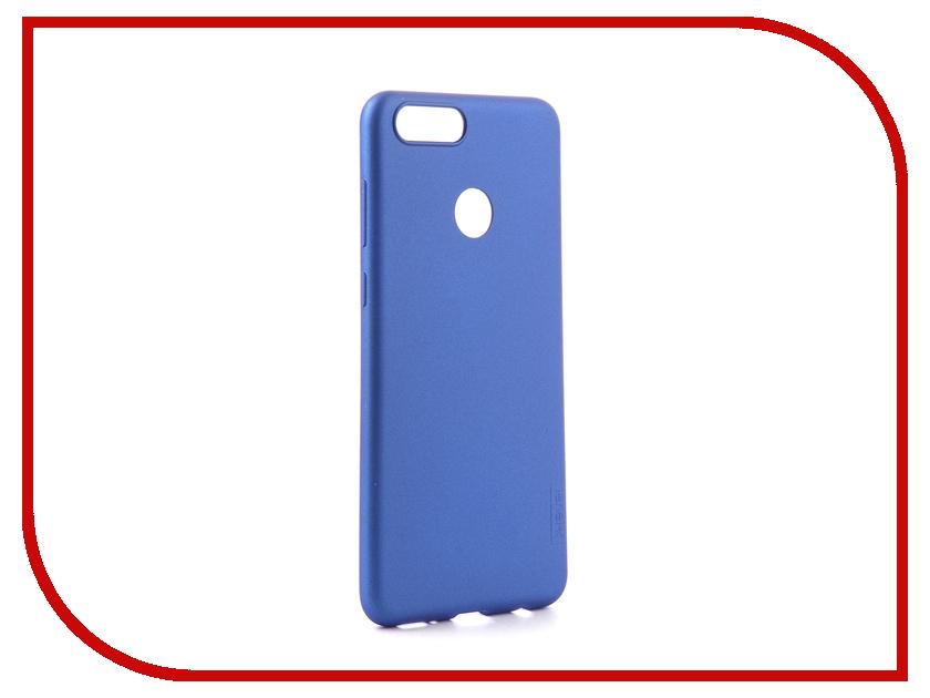 Аксессуар Чехол для Huawei Honor 7X X-Level Guardian Series Blue 2828-089