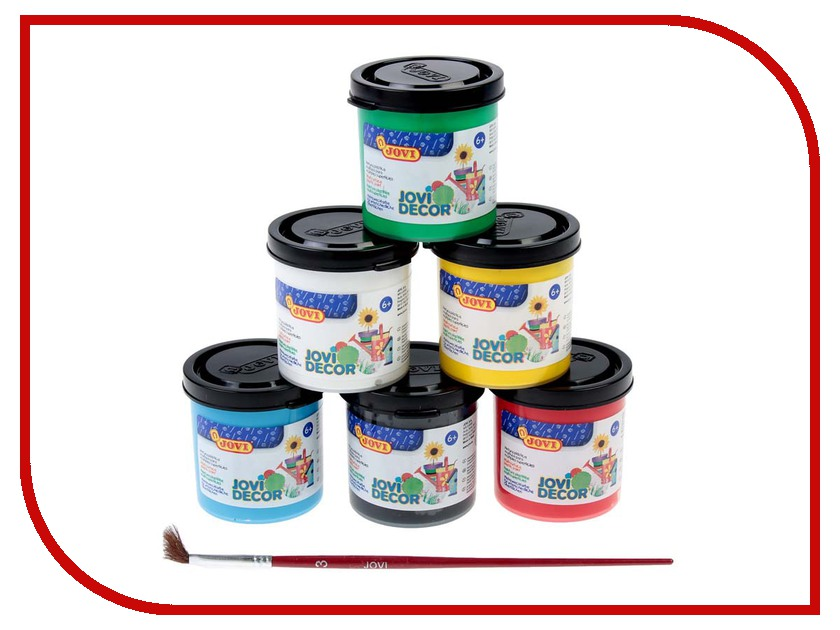 Набор JOVI Акриловые краски 6 цветов 55ml 670