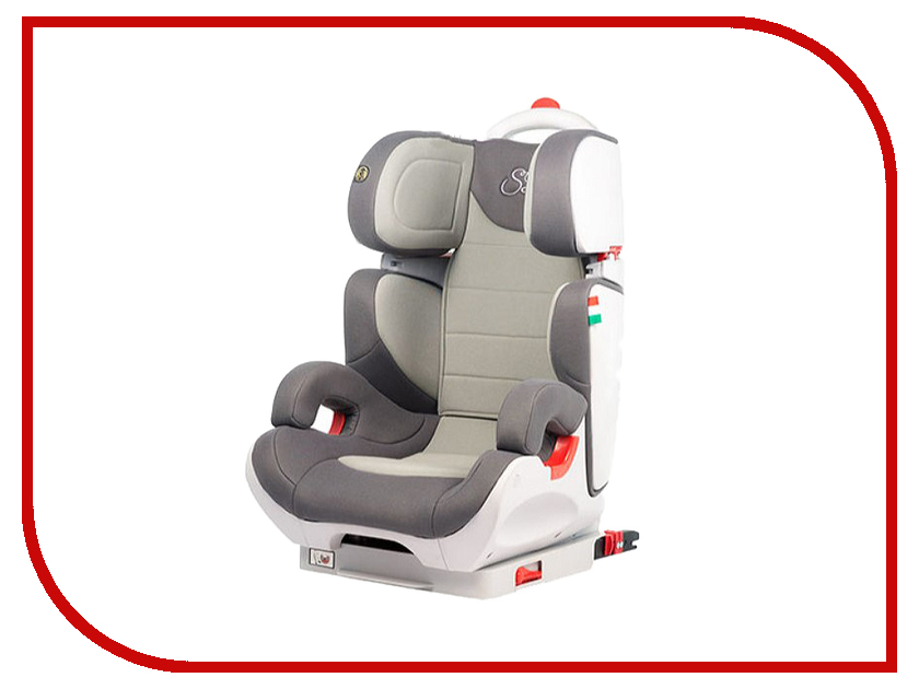Автокресло Sweet Baby Gran Voyage Isofix группа 2/3 Grey 404373 автокресло baby care legion grey 1023 black