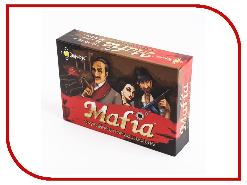 Настольная игра Эврикус Mafia Случайное происшествие BG-11001 женские сапоги ecco 351123 14 11001 01220