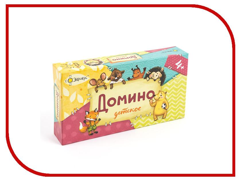 Фото Настольная игра Эврикус Домино детское BG-11002