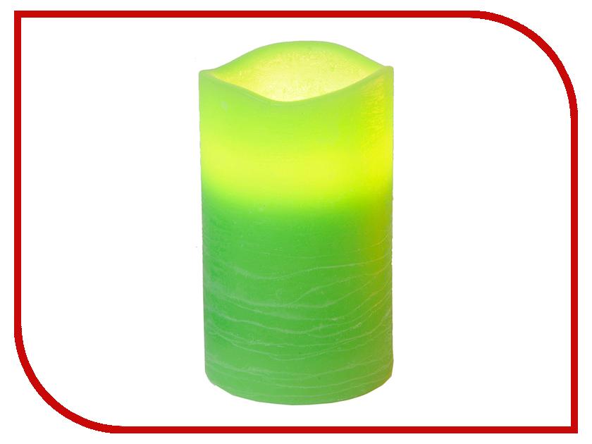 Светодиодная свеча Star Trading Green 067-65