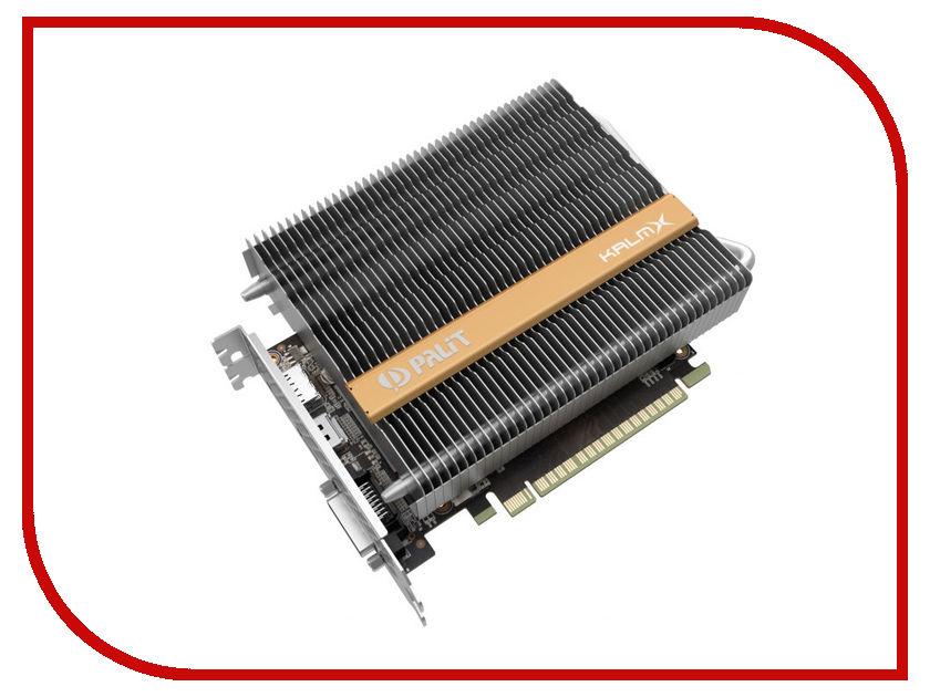 Видеокарта Palit GeForce GTX 1050 Ti KalmX 1290Mhz PCI-E 3.0 4096Mb 7000Mhz 128 bit DVI HDMI NE5105T018G1-1070H видеокарта palit geforce gtx1050 ti dual 4g ne5105t018g1 4096mb 1290mhz nvidia gtx1050 ti gddr5 7000mhz 128 bit pci e dvi dp hdmi