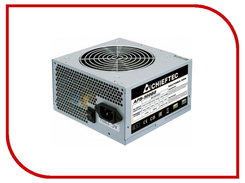 Блок питания Chieftec APB-500B8 500W